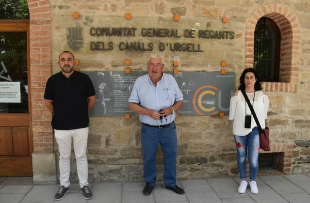 CCOO dona suport al projecte de modernització del Canal d'Urgell