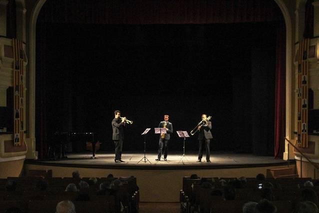 Concert de professors de l'Escola Municipal de Música de Bellpuig a benefici del Rebost Solidari de Càritas