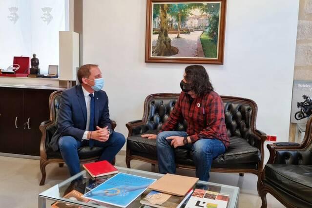 Crespín es reuneix amb els alcaldes de Bellpuig i la Fuliola