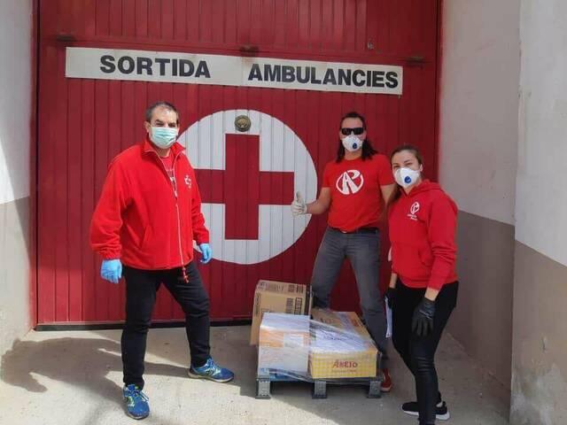 Creu Roja Agramunt atén 130 persones amb el Programa Respon