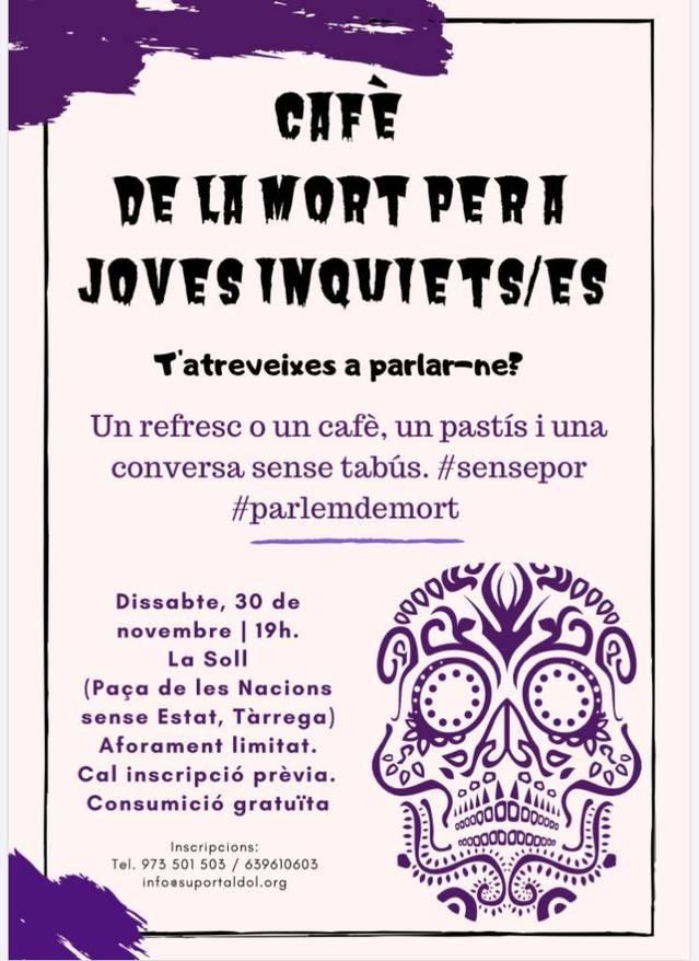 Debat a La Soll dissabte a les 19h per parlar de la mort sense tabús