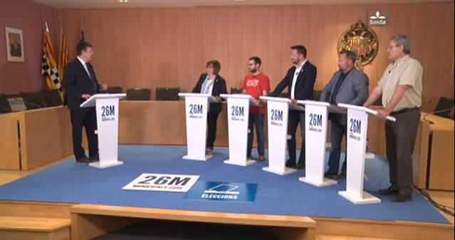 Debat Electoral de Tàrrega de Lleida TV