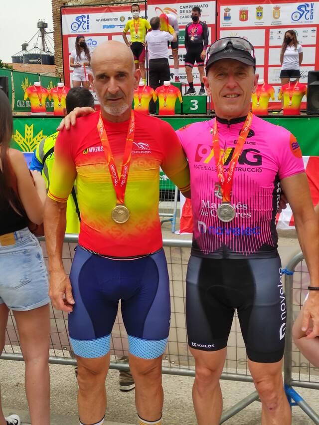 Destacada actuació targarina al Campionat d'Espanya de Ciclisme Màster