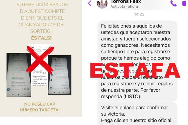 Dos empreses d'agramunt, víctimes de la suplantació dels seus perfils a les xarxes