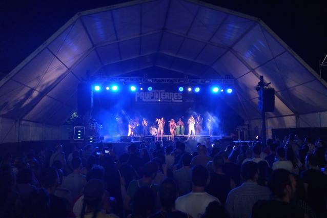 El 22è Festival Musical Paupaterres de Tàrrega congrega més de 10.000 espectadors
