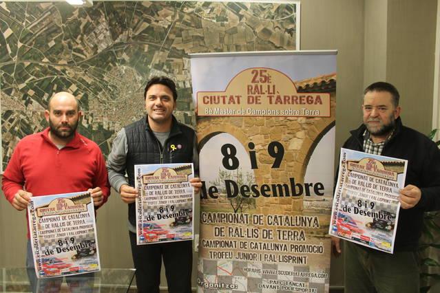 El 25è Ral·li Ciutat de Tàrrega decidirà el títol de la Copa Catalana de Ral·lis de Terra