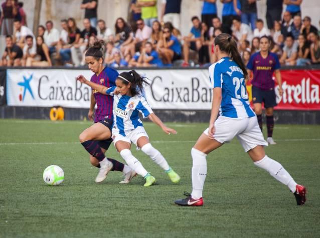 El barça guanya la Copa Catalunya Femenina de Futbol