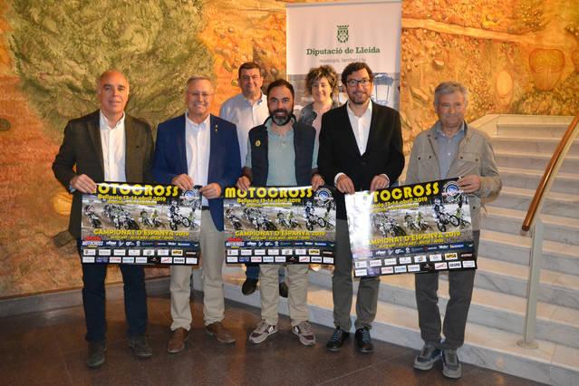 El Campionat d'Espanya de Motocròs a Bellpuig es presenta amb novetats en el traçat del circuit