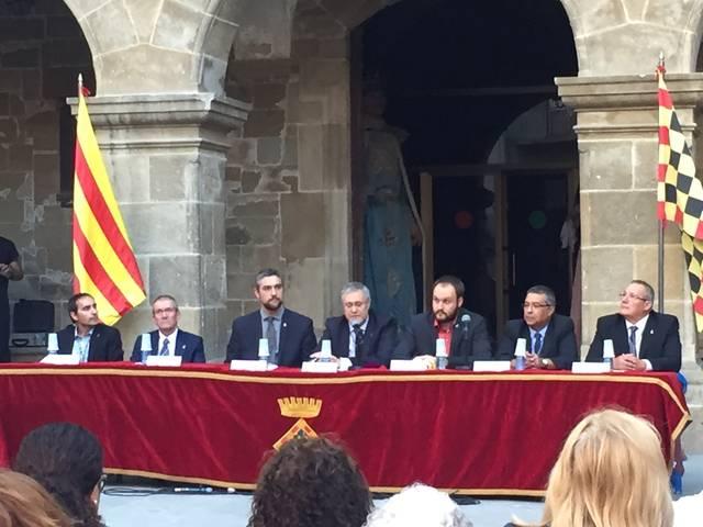 El Consell Comarcal de l'Urgell celebra la Diada a Agramunt