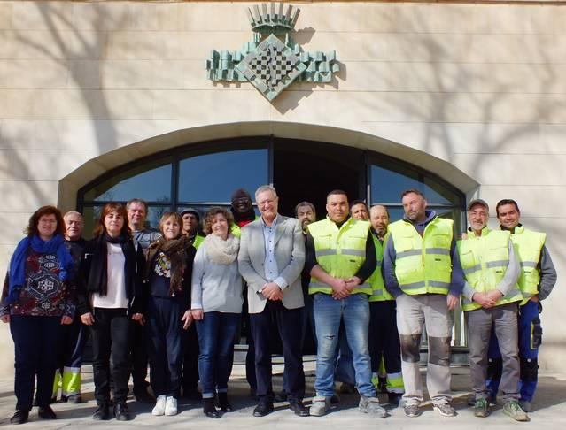 El Consell Comarcal de l'Urgell contracta 16 persones aturades amb el programa Treball i Formació