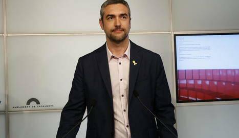 El delegat del Govern a Lleida, Bernat Solé, visita Tàrrega