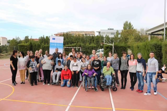 El Grup 'Alba' promou la dansa inclusiva i l'esport adaptat dins del projecte europeu 'Unidans'