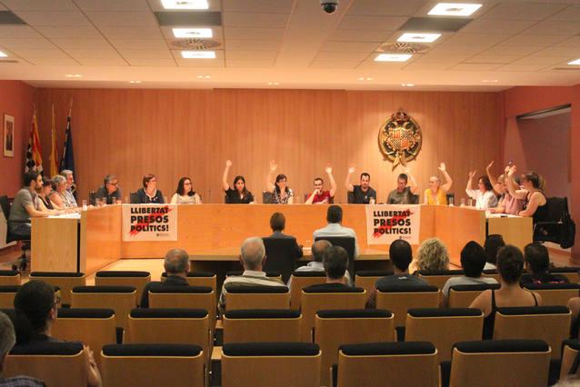 El Ple de Tàrrega aprova el nou cartipàs municipal, fruit del pacte de govern entre els grups d'ERC-MES i la CUP