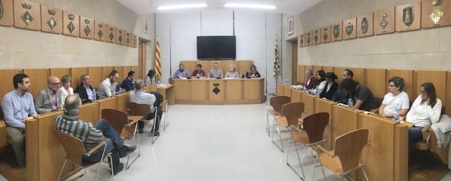 El ple del Consell Comarcal de l'Urgell aprova la moció que rebutja la sentència del Tribunal Suprem