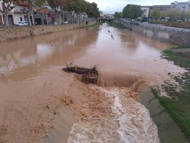 El temporal de fortes pluges causa alguns incidents a la comarca