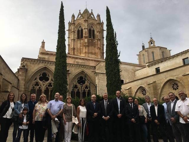 Els alcaldes de l'Urgell demanen fer efectiu el mandat del primer d'octubre a Vallbona