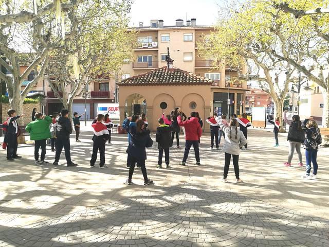 Els escolars d'Agramunt celebren el Dia Sense Cotxes