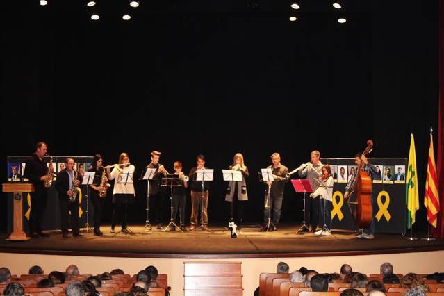 Els Músics per la Llibertat de Bellpuig reben el Mèrit Musical de l'Any