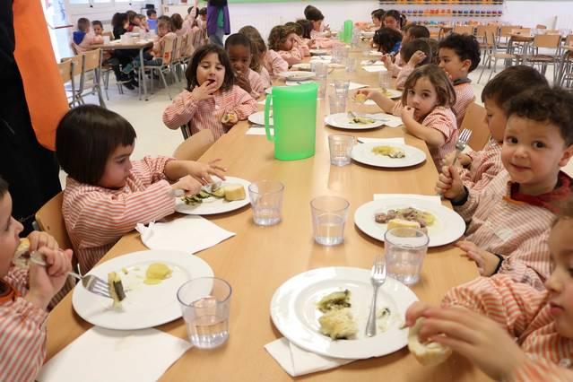 Els menjadors escolars de Quàlia són seleccionats per implantar la cuina climàtica als seus menús