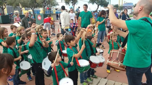 Els Targalets de l'Associació Guixanet actuen a la Festa dels Súpers