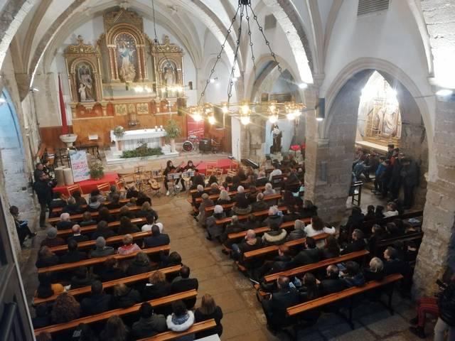 Èxit del primer concert del Musicant l'Urgell a Vilagrassa