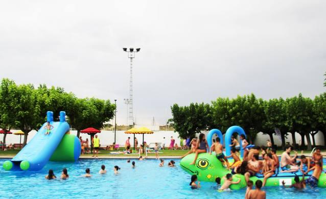 Festa Aquàtica del Programa Nereu a les piscines de Bellpuig