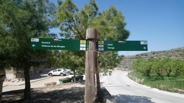 Finalitzen les tasques de manteniment i conservació de les rutes de senderisme i BTT