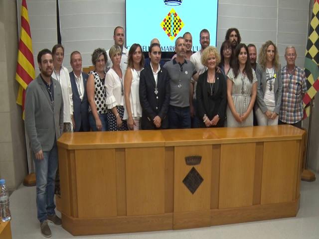Gerard Balcells (ERC) és investit president del Consell Comarcal de l'Urgell