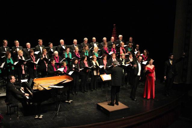 Gran èxit del Concert de Reis de Tàrrega, que omple el Teatre Ateneu amb fragments d'òpera, sarsuela i musicals