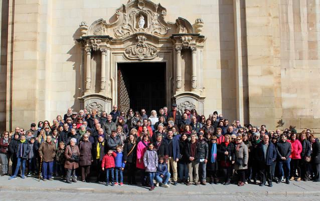 """Gran èxit del """"Coneguem l'Urgell sense presses"""" a Tàrrega, amb una ruta guiada que congrega 150 persones"""