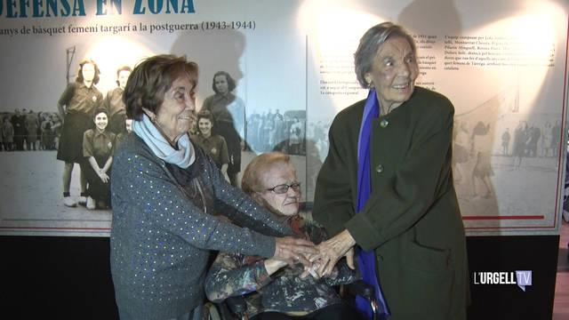 Homenatge a les dones pioneres del bàsquet femení de Tàrrega