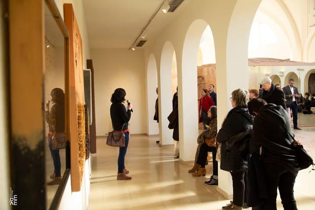 Inauguració de l'exposició El primer humà va ser un artista