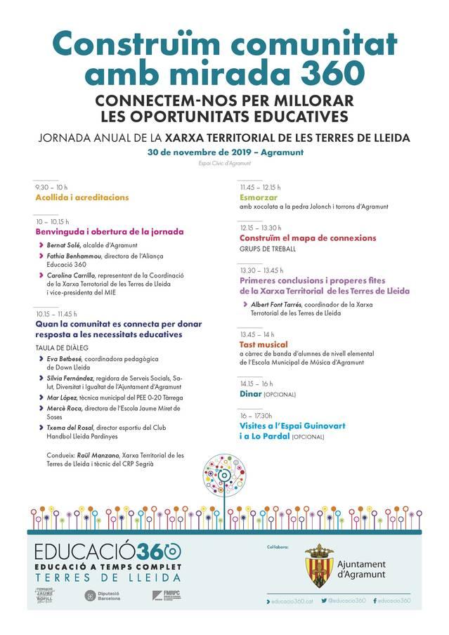 Jornada sobre l'equitat educativa a Agramunt