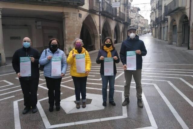 Junts per Tàrrega torna a reclamar ajuts directes per als negocis afectats per la Covid
