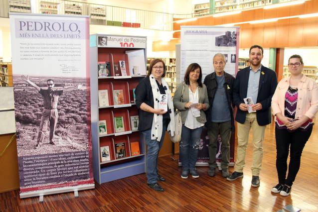 La Biblioteca Comarcal de Tàrrega acull una exposició sobre l'obra i el pensament de Manuel de Pedrolo