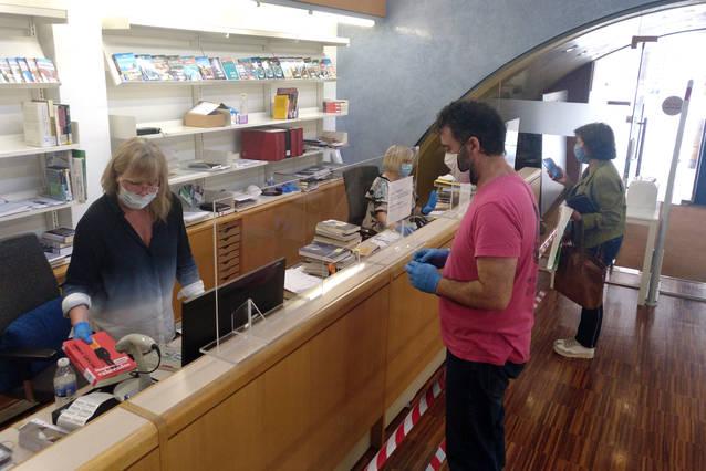 La biblioteca de Tàrrega restableix de forma presencial el servei de préstec i devolució de documents
