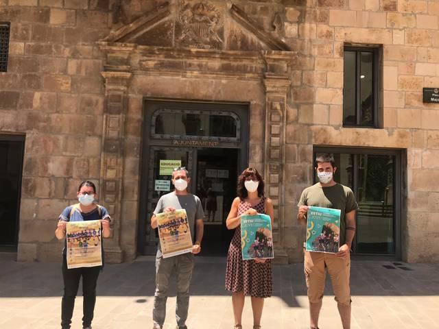 Quàlia i l'Ajuntament de Tàrrega presenten l'oferta d'activitats juvenils per aquest estiu