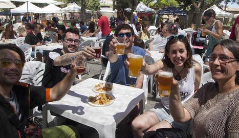 La Fira de la Cervesa serveix fins a 3.700 litres de 80 varietats