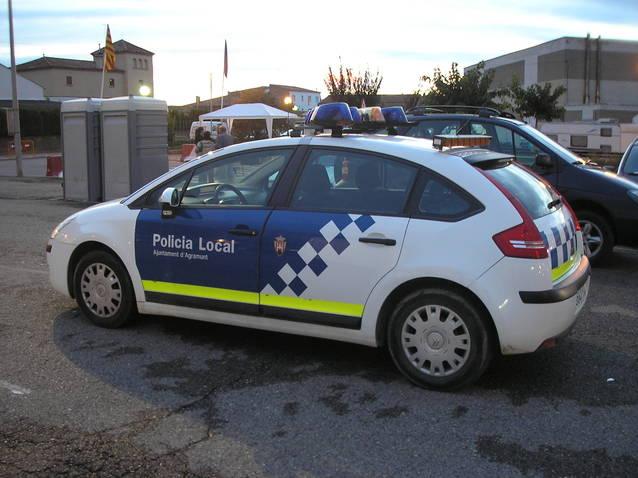 La Policia Local d'Agramunt denuncia 8 persones per estar a la via pública sense motiu