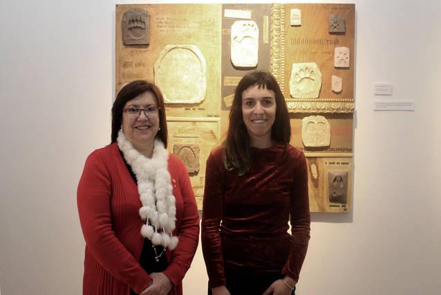 La Sala Marsà de Tàrrega exhibeix l'obra de la jove artista Candela Llop