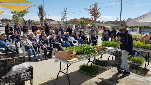 La segona edició de la fira Viu l'Hort es consolida amb 2000 visitants