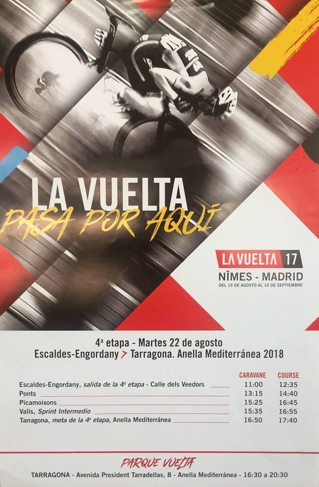 La Vuelta Ciclista passa per l'Urgell