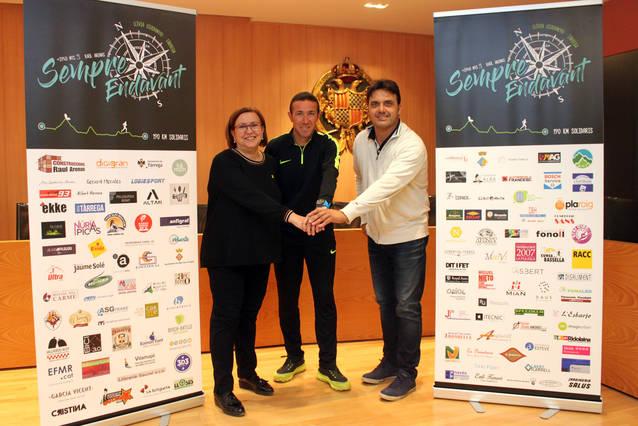 L'Ajuntament de Tàrrega col·labora en la nova iniciativa solidària de l'atleta Raül Arenas en favor d'una nena amb mobilitat reduïda