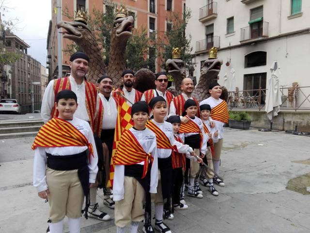 Les àligues de Tàrrega participen en el Festivitas Bestiarium a Manresa