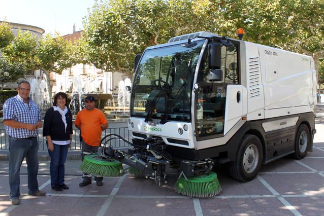 L'Ajuntament de Tàrrega reforça la neteja viària amb l'adquisició d'una segona màquina escombradora