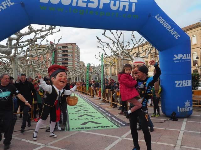 L'atleta targarí Raül Arenas completa el seu segon repte solidari