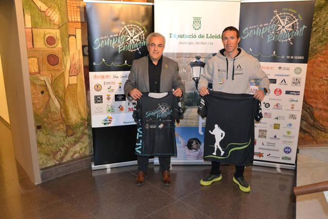 L'atleta targarí Raül Arenas correrà 190 km sense aturar-se per la iniciativa solidària 'Sempre endavant'