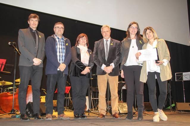 Laura Villalba rep el 33è premi Valeri Serra