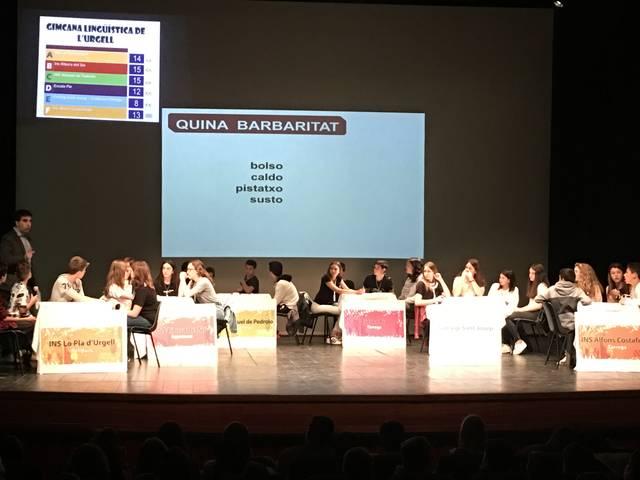 L'Institut Alfons Costafreda de Tàrrega guanya la XIV Gimcana Lingüística de l'Urgell