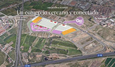 Tàrrega també rebutja el centre comercial de Torre Salses de Lleida